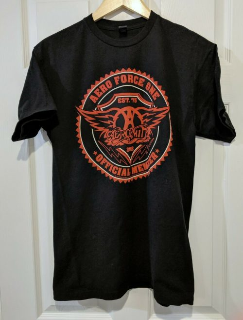 Aerosmith Air Force One Tee Shirt