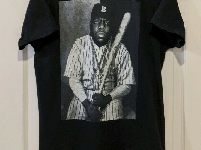 Biggie Smalls Baseball Tee Shirt