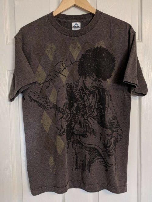Jimi Hendrix Signature Tee Shirt