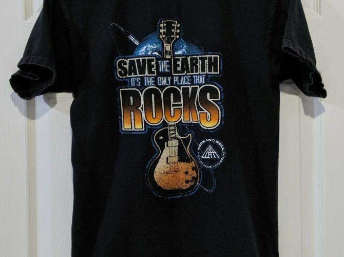 Rock Hall Save the Earth Tee Shirt