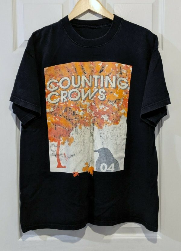 counting crows 2004 tee shirt