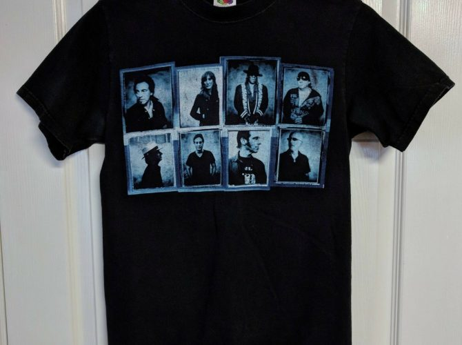 Springsteen Tour Tee Shirt