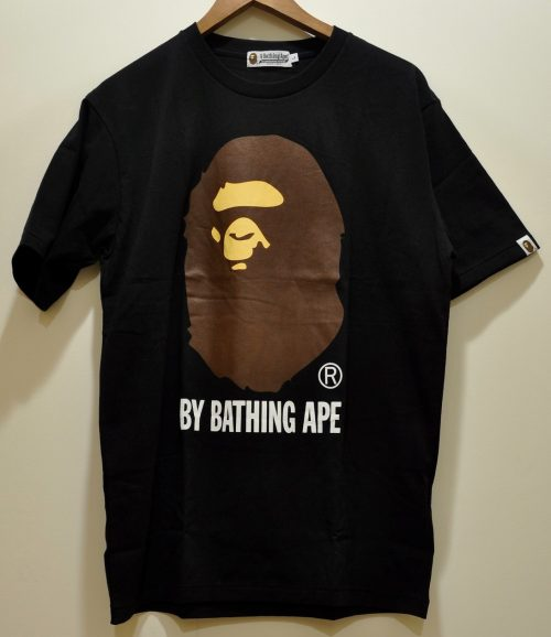A Bathing Ape Black Logo t-shirt
