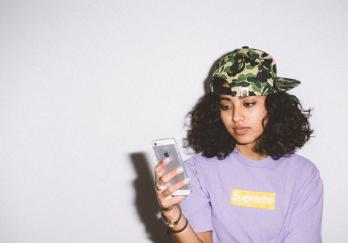 supreme purple